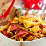 The best Chex Mix recipe | savory snack mix - foodmeanderings.com