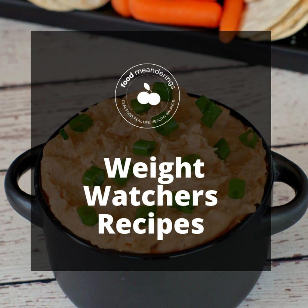Pinterest Weight Watchers recipes board cover