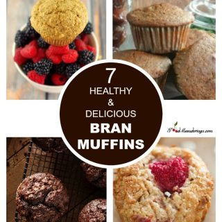 Healthy Bran Muffin Recipe | delicious #branmuffins #healthy #delcious