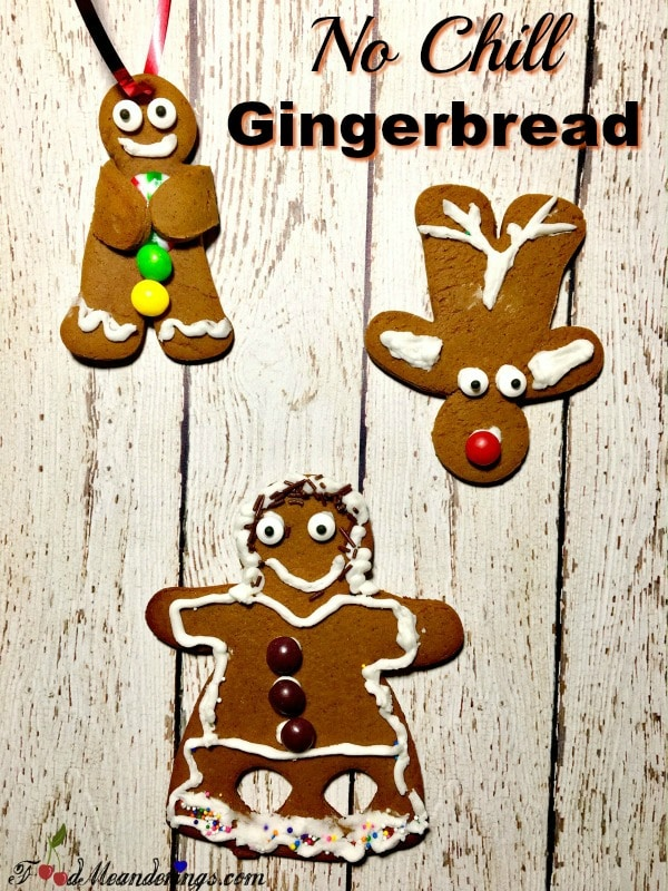 No chill Gingerbread cookies recipe | #gingerbread #cookies #nochill