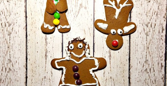 NO CHILL Gingerbread Cookies