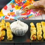Pigs in a blanket| french toast roll ups - foodmeanderings.com