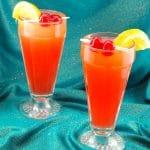 Shirley Temple Drink | mocktail - foodmeanderings.com
