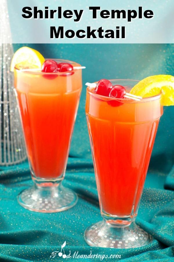 Shirley Temple Mocktail | #mocktail #kids #shirleytemple #drink