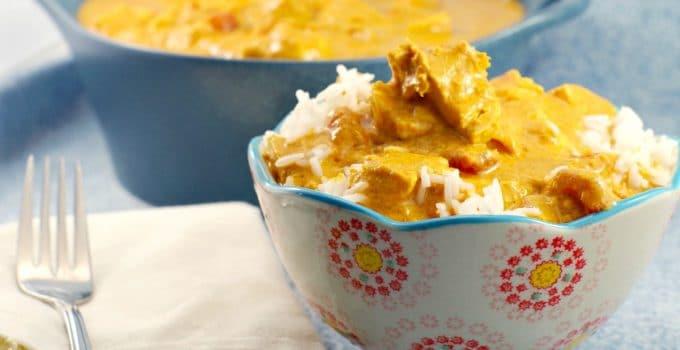 Easy & Healthy Butter Chicken: Weight Watchers friendly & Gluten-free