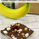 Healthy Chocolate Dessert | No Bake Rocky Road Bars #chocolate #dessert #healthy