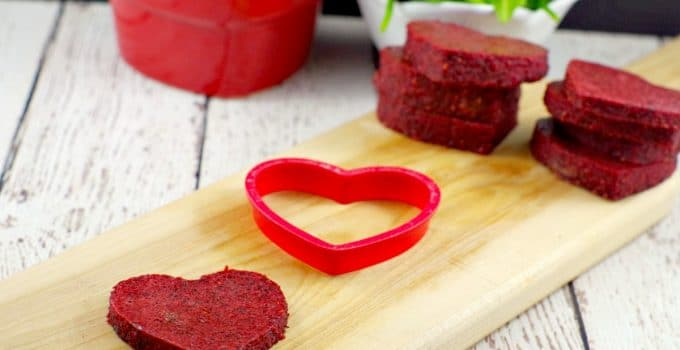 Healthy Homemade Jello Fruit & Veggie Snack: A healthy Valentine's Day Treat