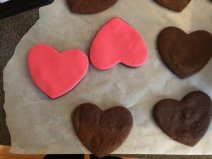 Cat Cookies Decorating - step 2