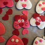 Cat Cookies decorating Step 4