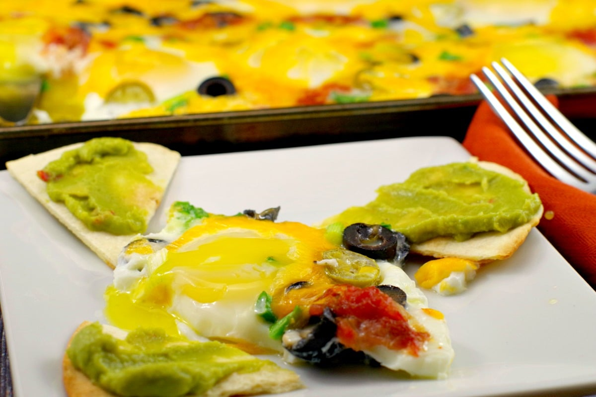 Sheet Pan Eggs - Mexican