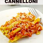 Stuffed Beef Cannelloni | #beef #cannelloni #pasta #Italian