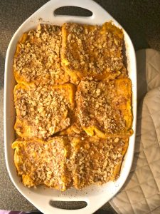baked carrot cake french toast casserole