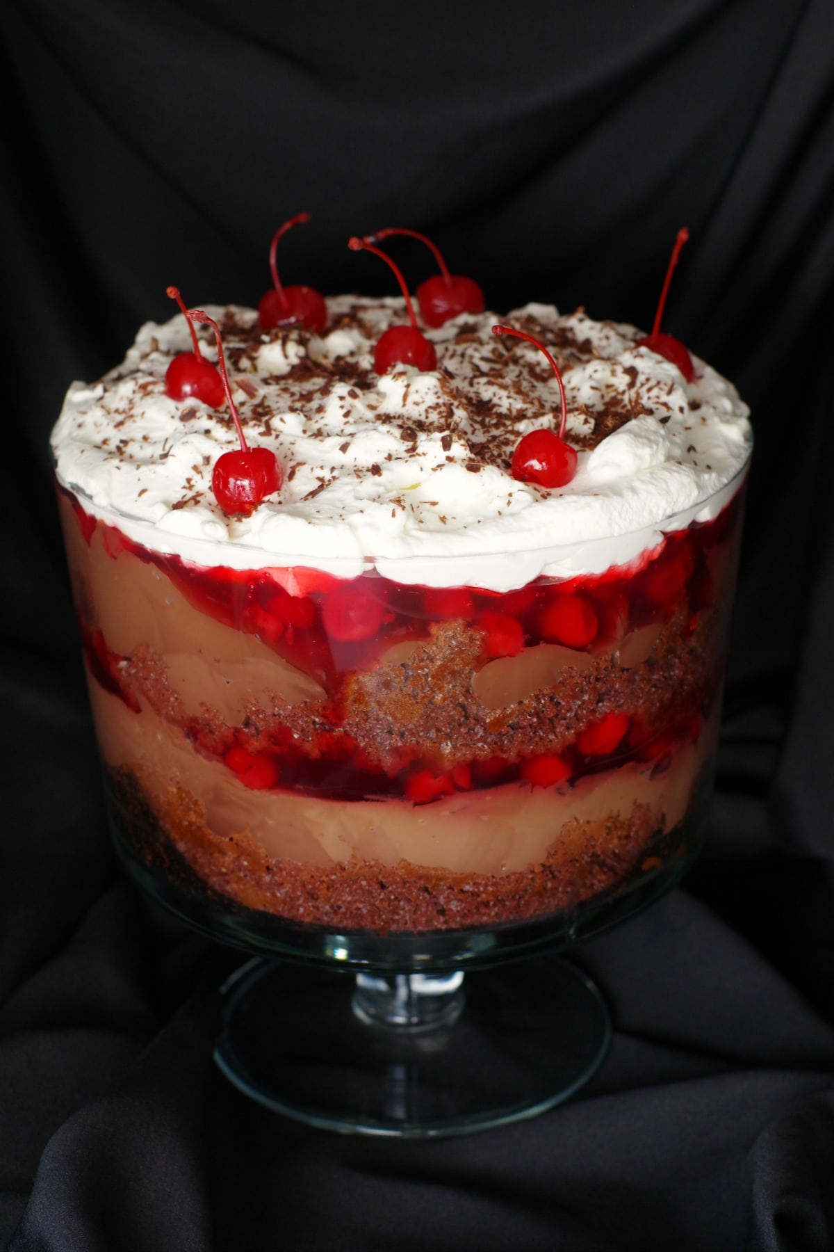 Large Glass bowl of trifle