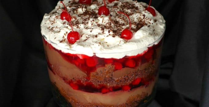 NO BAKE Easy Black Forest Trifle & 3rd year Bloggiversary Lessons