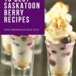 text with saskatoon berry shooters recipe