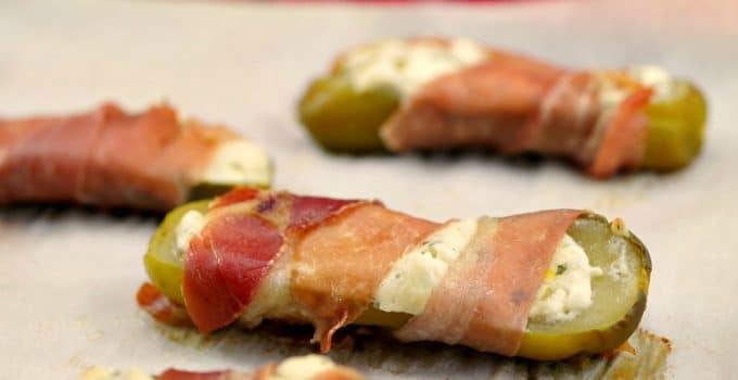 Boursin Stuffed Pickles (Gluten-free & Low-Carb)