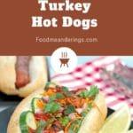 grilled banh mi turkey hotdog in bun