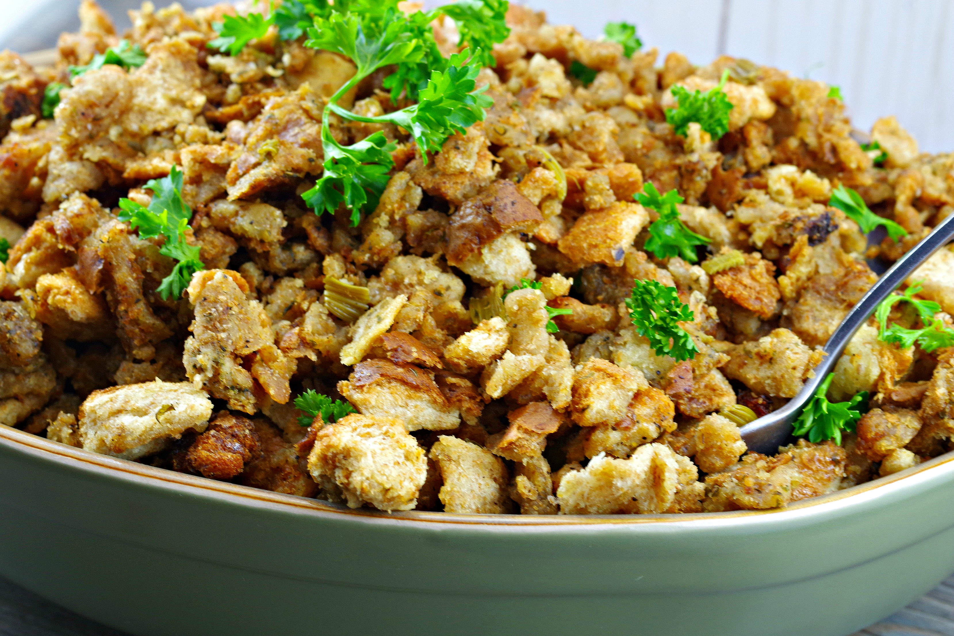 Old Fashioned Bread Stuffing |Easy