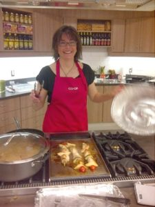 me cooking at co op cook-off