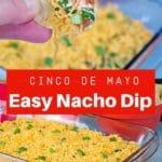 2 photos of Cold easy nacho dip