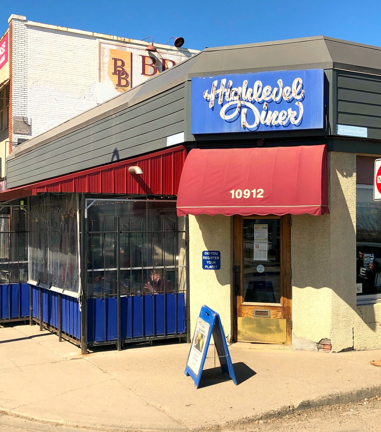 Highlevel Diner in Edmonton