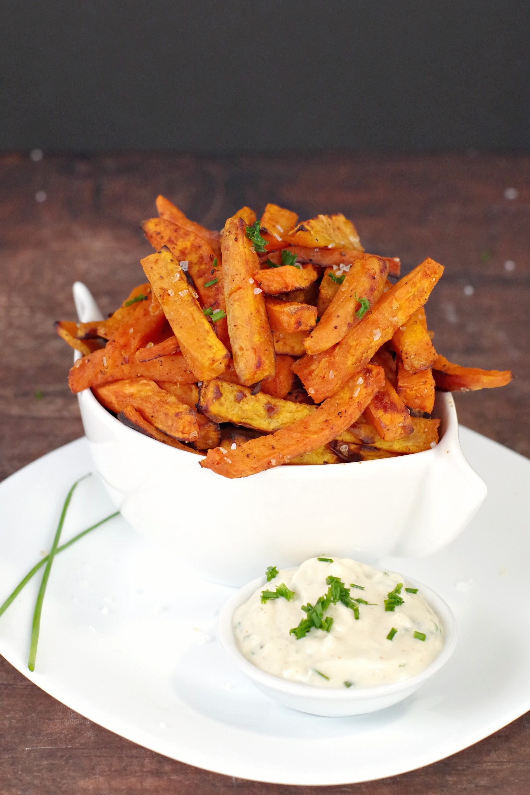 Moxie's sweet potato fries and dip recipe