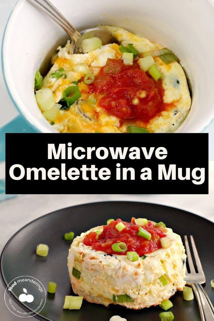Microwave Omelette In A Mug Weight Watchers Food Meanderings