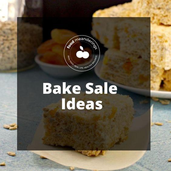 Pinterest board cover for bake sale board