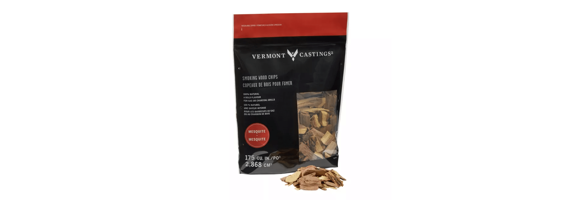 bag of mesquite wood chips